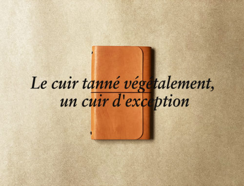 LE CUIR TANNE VEGETALEMENT, UN CUIR D'EXCEPTION